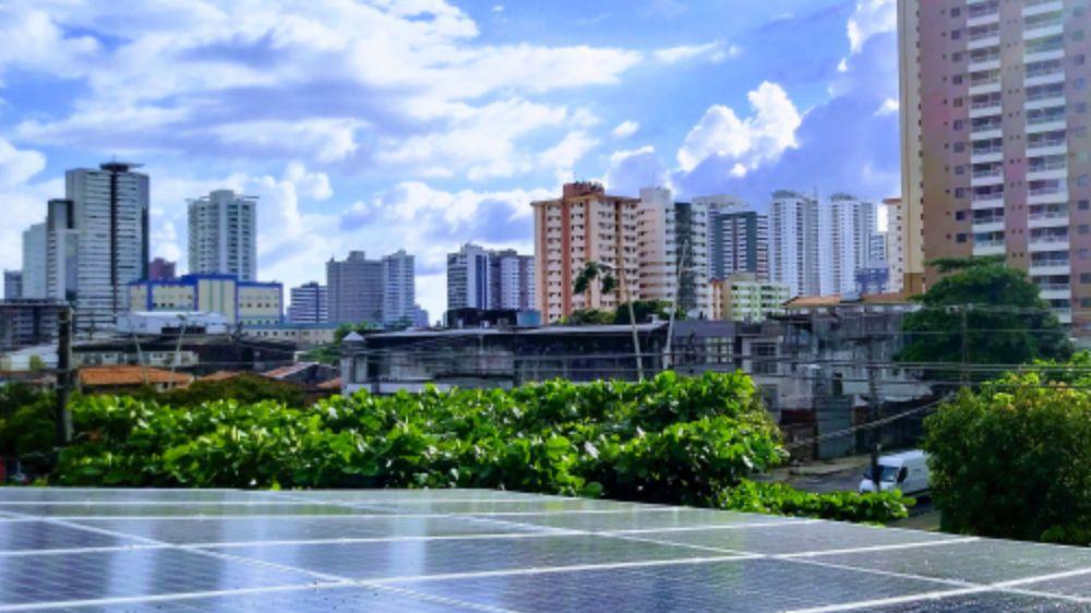 painel fotovoltaico a energia solar no consumo de energia eletrica