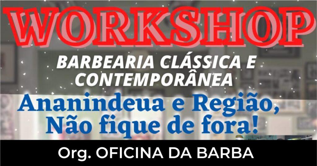 WORKSHOP BARBEARIA CLASSICA E CONTEMPORANEA